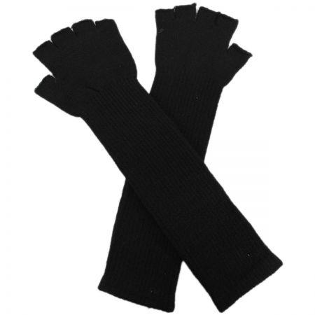 Jeanne Simmons 10-Inch Knit Fingerless Gloves