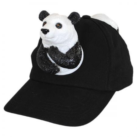 3D Panda Snapback Baseball Cap
