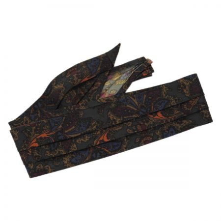 Capas Headwear Paisley 3-Pleat Pug Hat Band