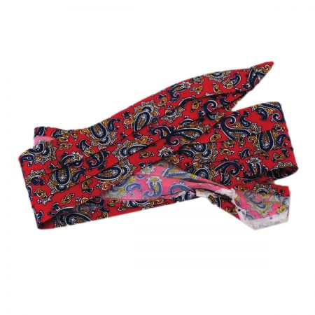 Paisley 3-Pleat Pug Hat Band alternate view 7