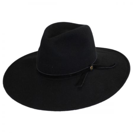 Goorin Bros Queen of Knives Wool Felt Wide Brim Fedora Hat