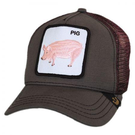 Goorin Bros Pig Mesh Trucker Snapback Baseball Cap