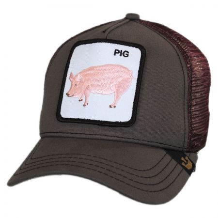 Goorin Bros Pig Trucker Snapback Baseball Cap