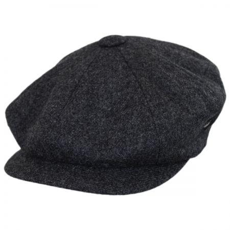 Newsboy Cap Charcoal at Village Hat Shop c4027bc2a97