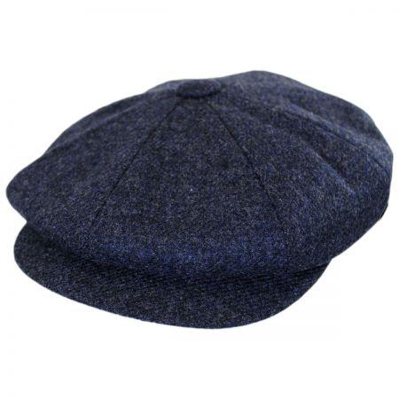 Navy Blue Newsboy Cap at Village Hat Shop a670b5c86f