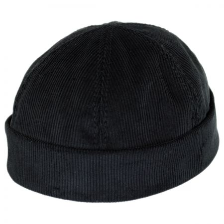 New York Hat & Cap Six Panel Corduroy Skull Cap Beanie