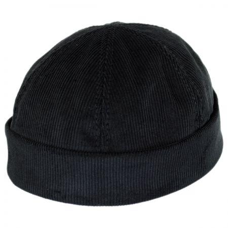 New York Hat & Cap Six Panel Corduroy Skull Cap Beanie