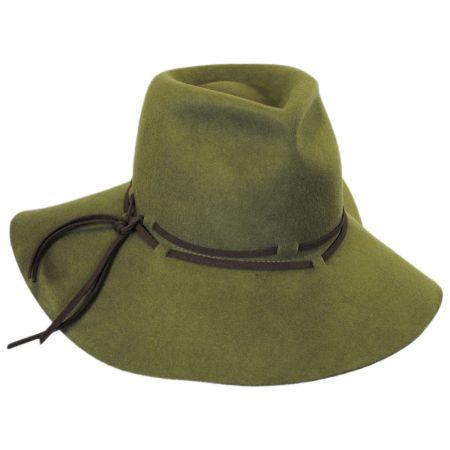 Brooklyn Hat Co Lorimer Wool Felt Floppy Fedora Hat