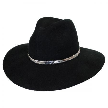 Stockbridge Wool Felt Wide Brim Fedora Hat