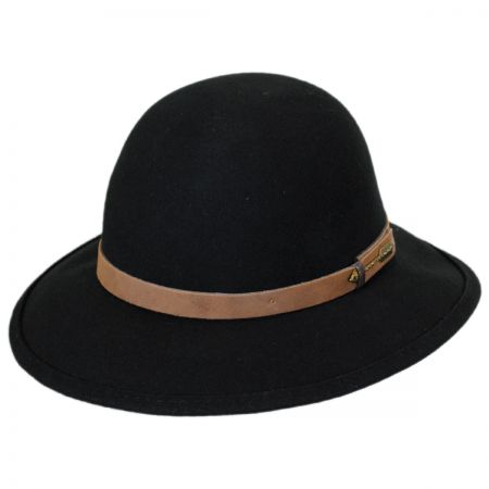 Brooklyn Hat Co Quiver Wool Felt Open Crown Fedora Hat