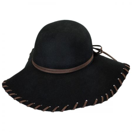 801d0a4c Black Floppy Hats at Village Hat Shop