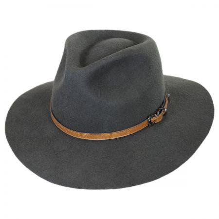 Lodi Wool Felt Rancher Fedora Hat alternate view 1