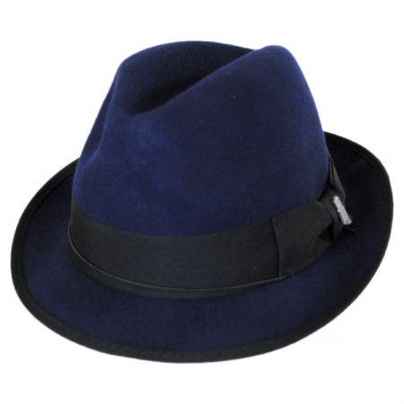 Brooklyn Hat Co Bleeker Wool Felt Trilby Fedora Hat