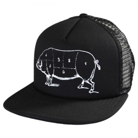 Brooklyn Hat Co Pork Belly Trucker Snapback Baseball Cap
