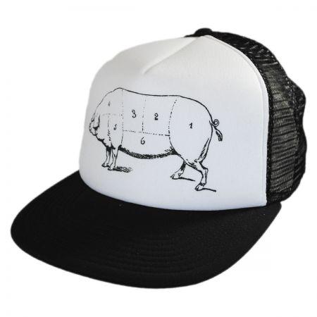 Pork Belly Trucker Snapback Baseball Cap alternate view 1