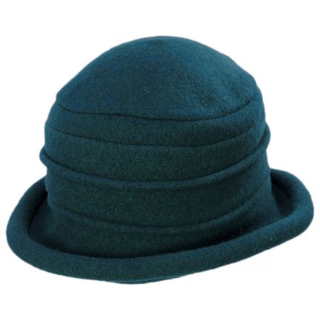 Packable Wool Cloche Hat alternate view 16