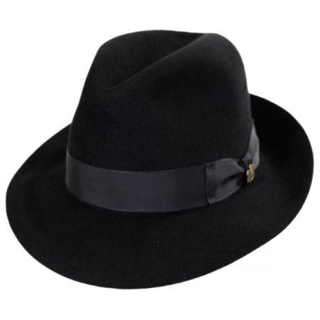 Atlas Foldable Fur Felt Fedora Hat alternate view 1