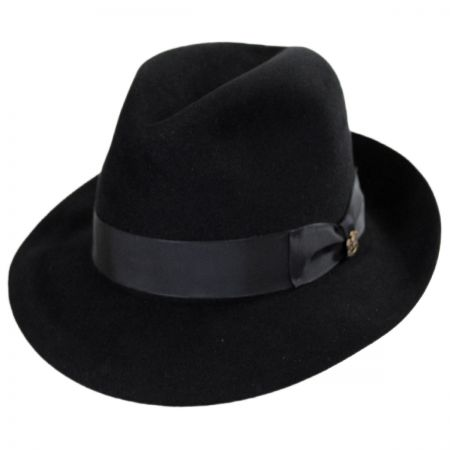 Biltmore Atlas Foldable Fur Felt Fedora Hat