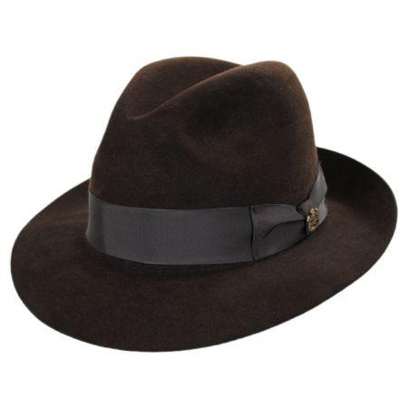 Atlas Foldable Fur Felt Fedora Hat alternate view 26
