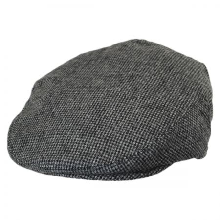 Baskerville Hat Company Kids' Houndstooth Wool Ivy Cap