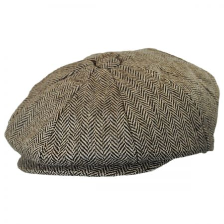 Jaxon Hats Kids' Herringbone Wool Blend Newsboy Cap