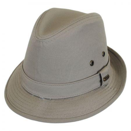 Cotton Rain Trilby Fedora Hat alternate view 1