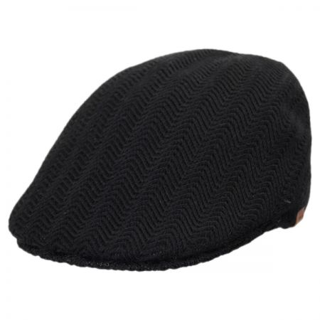 Black Herringbone Cap at Village Hat Shop 52c035b89ae