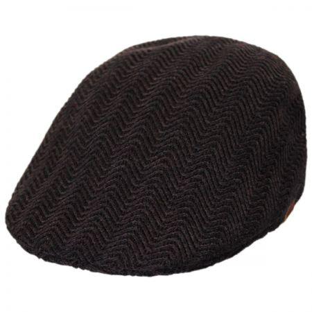 Herringbone Rib Wool Blend 507 Ivy Cap