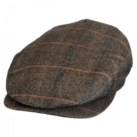 Hoxton Herringbone Plaid Wool Blend Ivy Cap alternate view 13