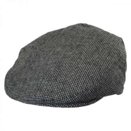 B2B Baskerville Hat Company Kids  Houndstooth Wool Ivy Cap 26c7a53851