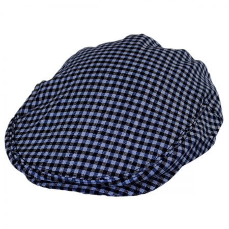 B2B Baskerville Hat Company George Wool Gingham Ivy Cap
