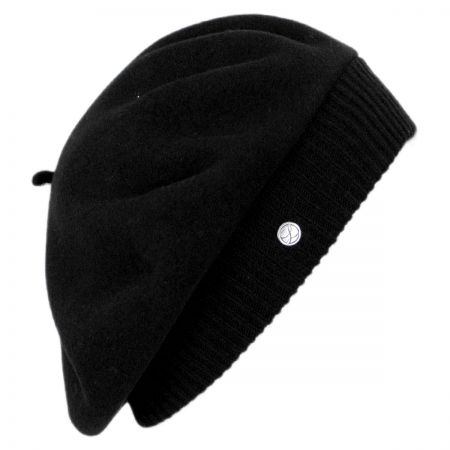 Parisienne Wool Beret with Storage Pouch