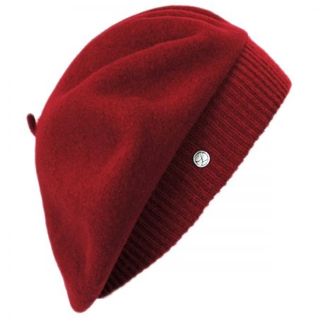 Laulhere Parisienne Wool Beret with Storage Pouch