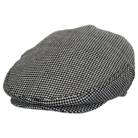 B2B Baskerville Hat Company Henry Houndstooth Wool Ivy Cap