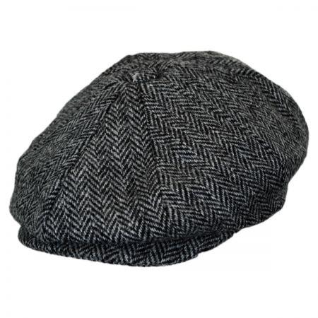 Baskerville Hat Company Holmes Herringbone Wool Newsboy Cap
