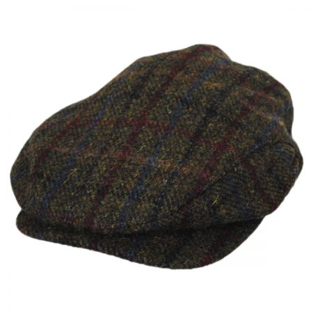 Baskerville Hat Company Darcy Plaid Wool Ivy Cap