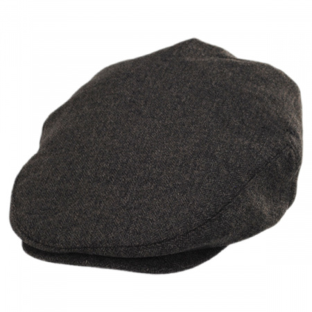 Neville Herringbone Wool Ivy Cap