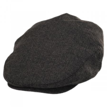 Baskerville Hat Company Neville Herringbone Wool Ivy Cap