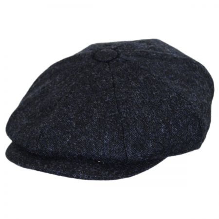 Baskerville Hat Company Rochester Italian Wool Newsboy Cap