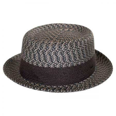 Brown Pork Pie Hat at Village Hat Shop c7679382b6a