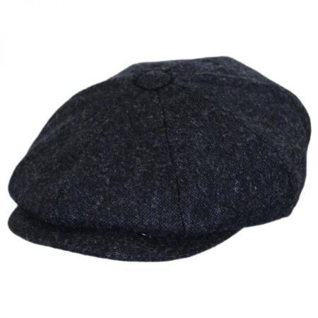 B2B Baskerville Hat Company Rochester Italian Wool Newsboy Cap