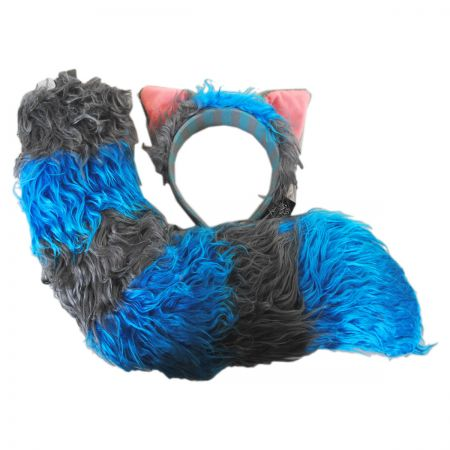 Deluxe Cheshire Cat Ears and Tail Accessory Set