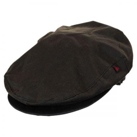 Woolrich Wax Cotton Earflap Ivy Cap
