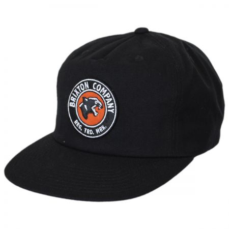 Brixton Hats Legion High Profile Snapback Baseball Cap