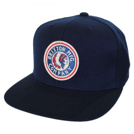 Brixton Hats Rival Snapback Baseball Cap