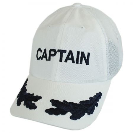 Dorfman Pacific Captain Mesh Strapback Baseball Cap