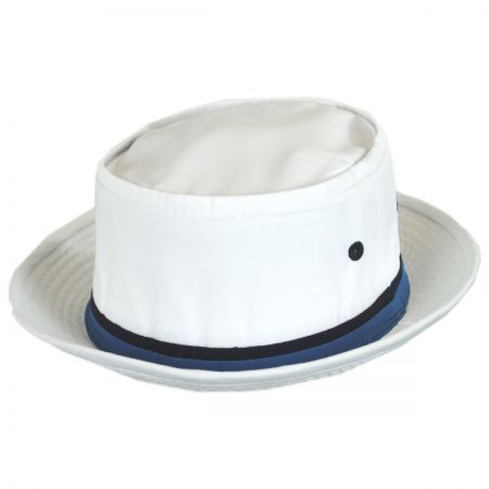 Dorfman Pacific Classic Roll Up Cotton Bucket Hat