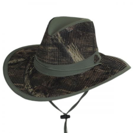 Mossy Oak Break-Up Infinity Supplex Mesh Aussie Hat