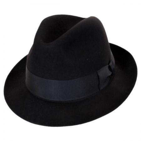 Stefeno Ultimo Beaver Fur Felt Fedora Hat