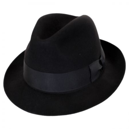 Ultimo Beaver Fur Felt Fedora Hat alternate view 9